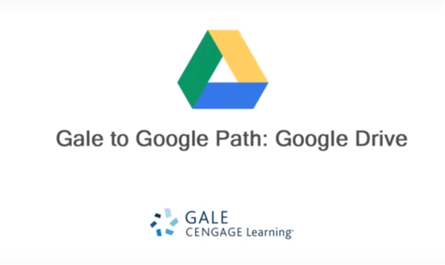 Gale to Google Path