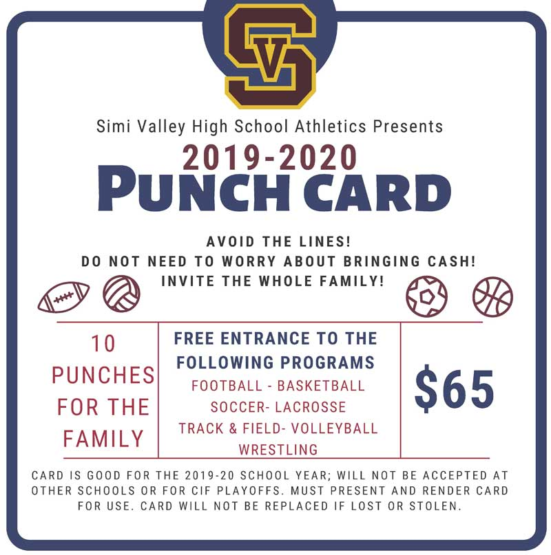 Punch Card 2019-2020