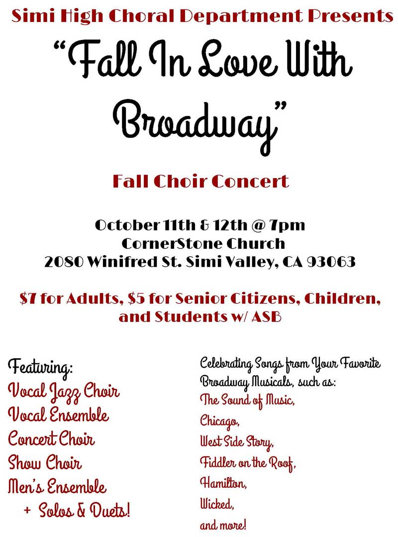Choral Music Concerts