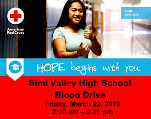 SVHS Blood Drive March 22nd