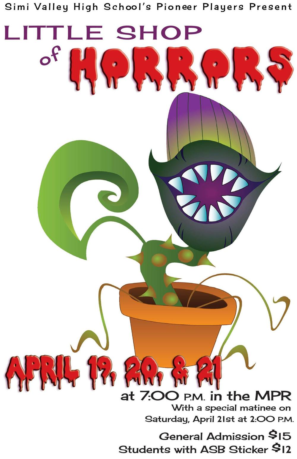Little Shop of Horrors - April 2018